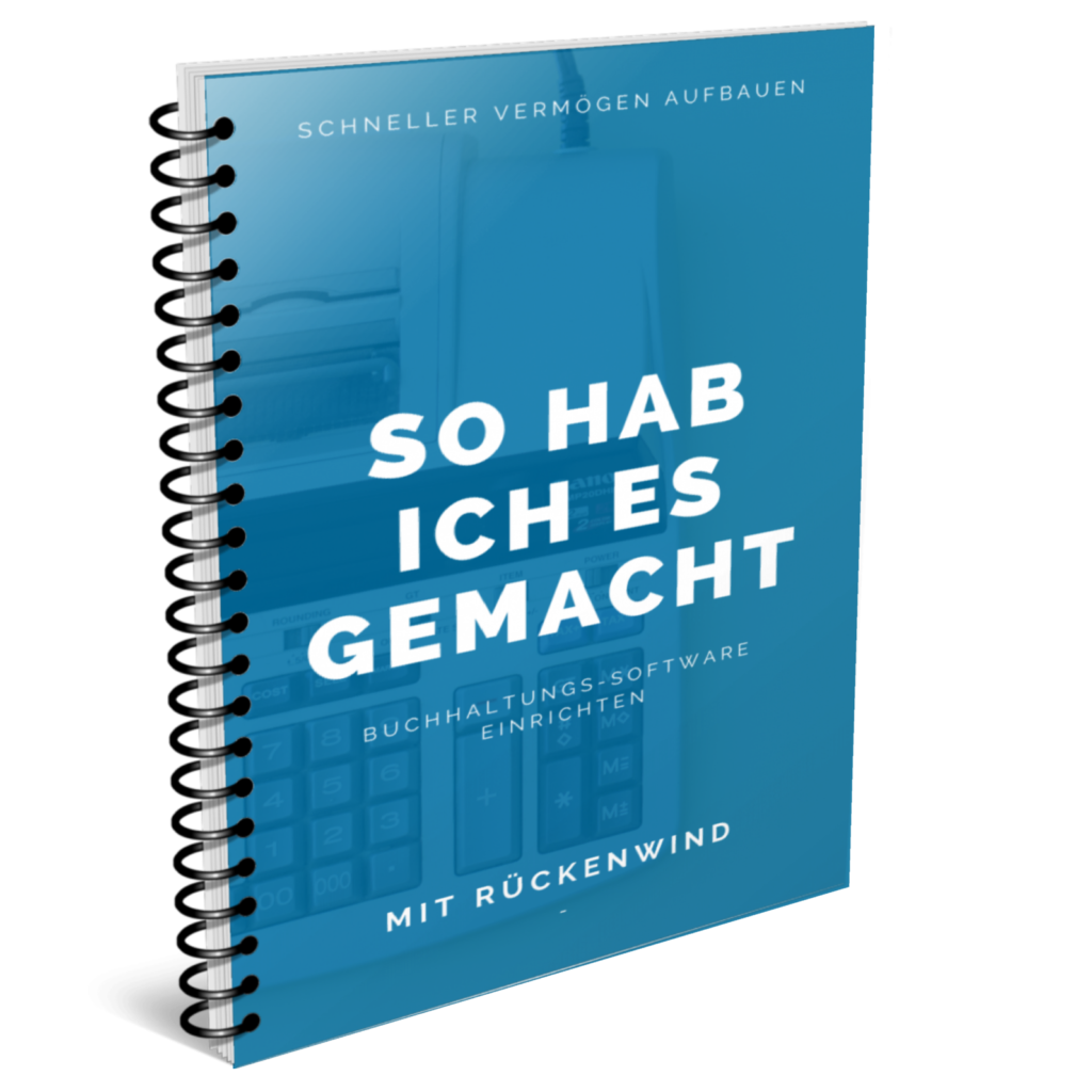 Buchhaltungs-Software für die vermögensverwaltende GmbH einrichten