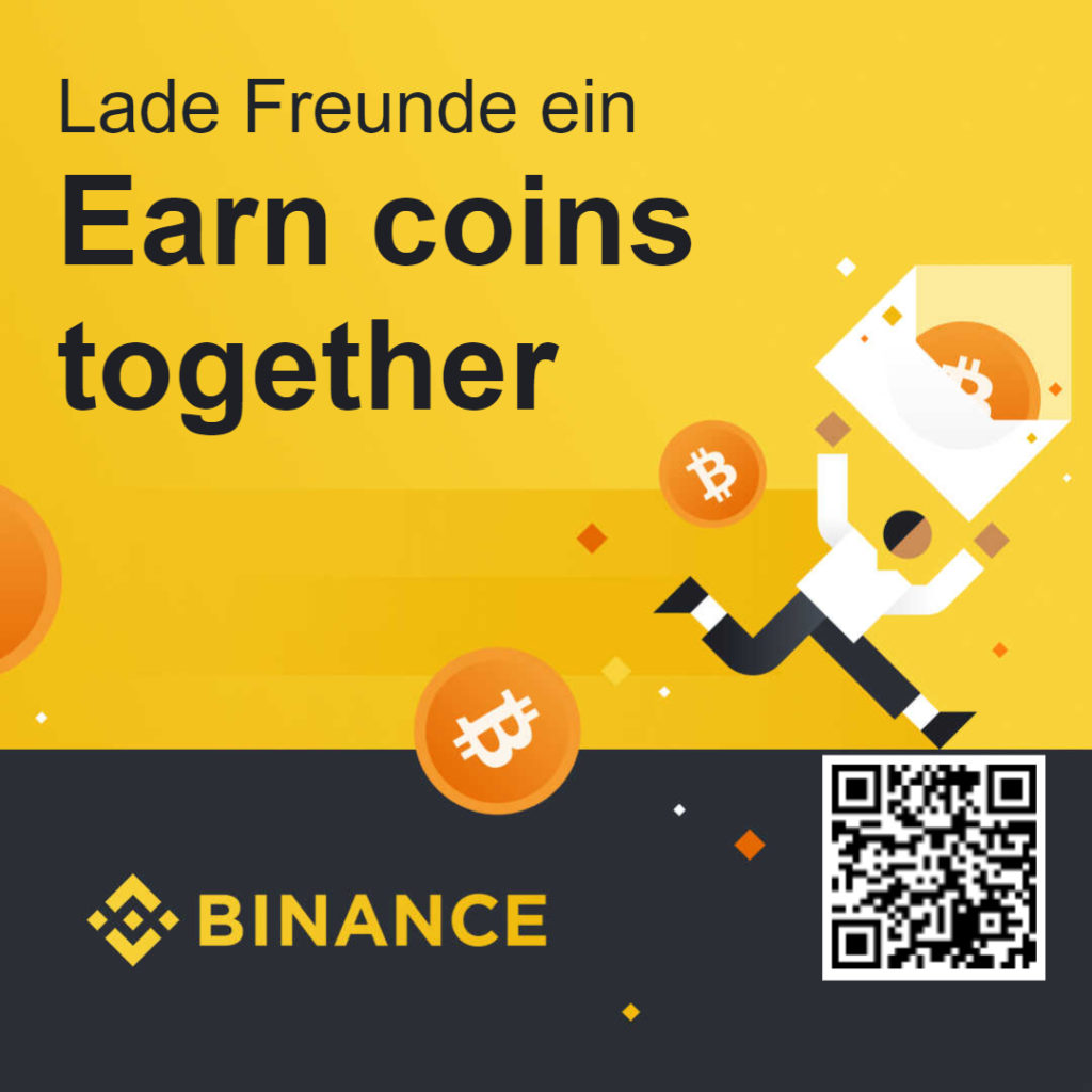 Crypto Portfolio bei Binance