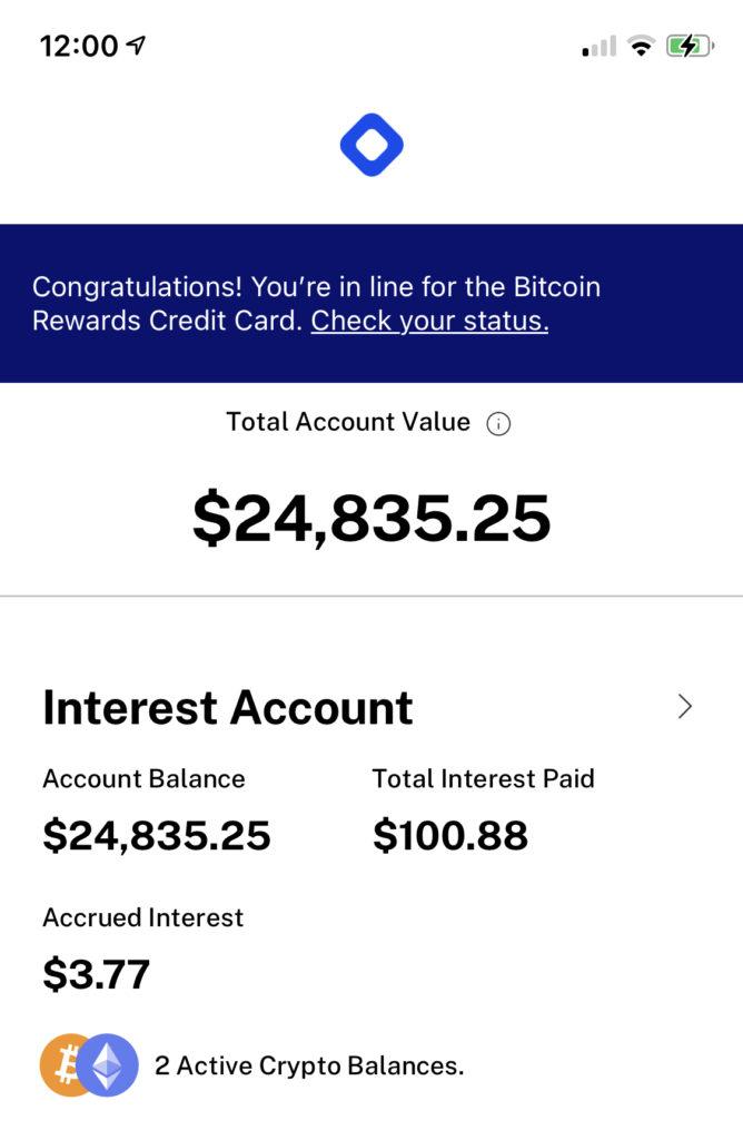 Bitcoin Sparplan: Meine Zinsen nach einem Monat